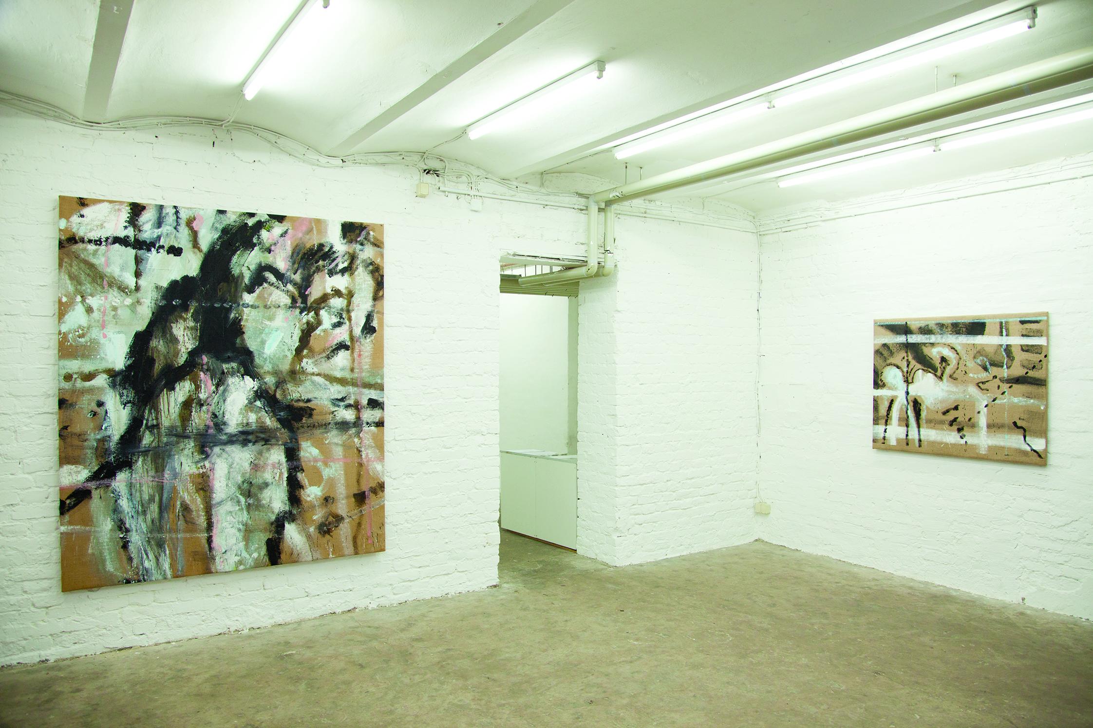 Exhibition at Dzialdov 2016, Berlin, Ali Labgaa